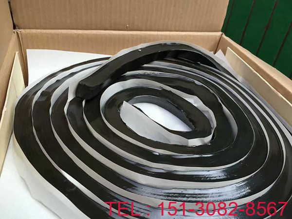 腻子型遇水膨胀止水条 科运橡塑国标研发橡胶止水条3